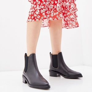 New Coach Bowery Chelsea Studded Boots